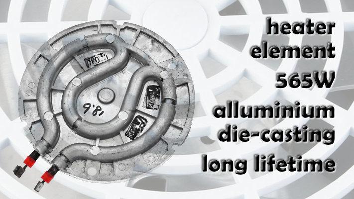 lifeenergy destilator 565W grijač