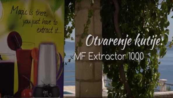 Extractor 1000 - unboxing