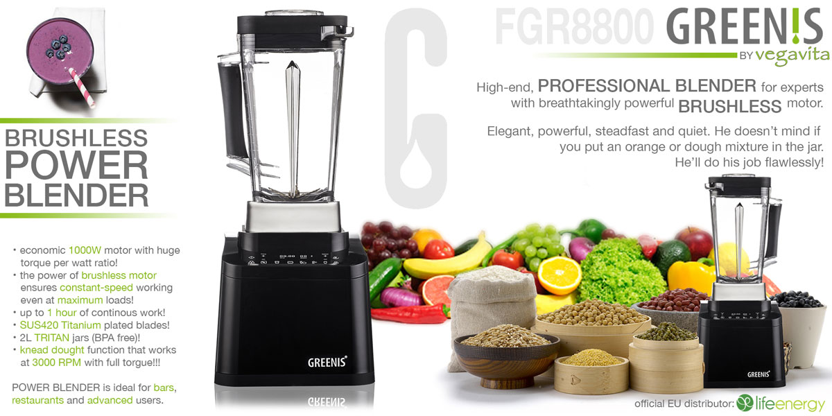 FGR8800 brushless blender