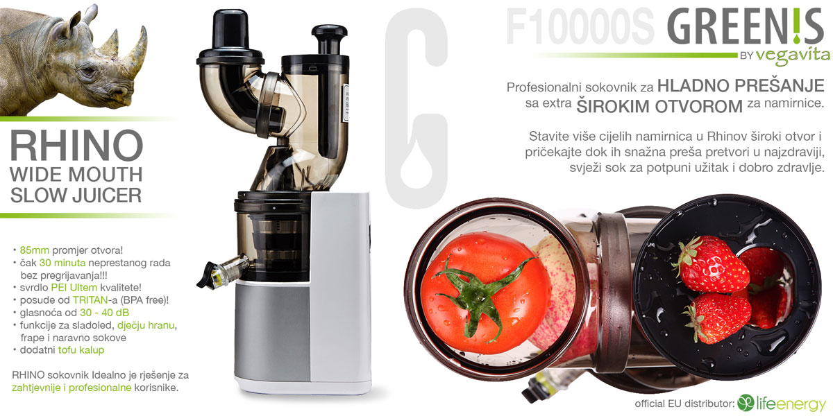GREENIS Rhino slow juicer